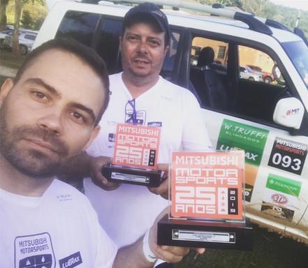 MITSUBISHI MOTORSPORTS: Dupla Bruno Cruz e André Figueiredo conquistam a quarta posição