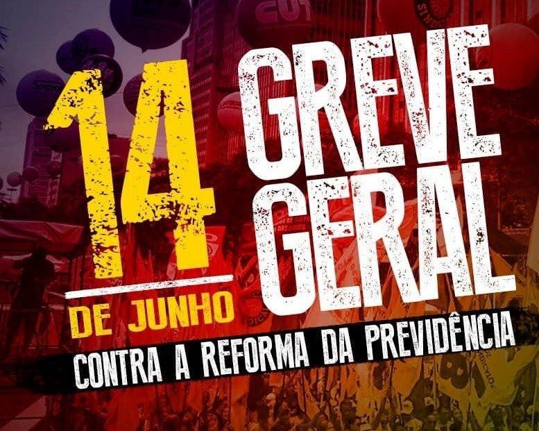 Centrais sindicais estão convocando uma greve geral na sexta-feira, 14