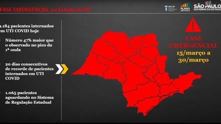 Região se organiza para adoção de fase emergencial, prefeitos fazem apelo à população
