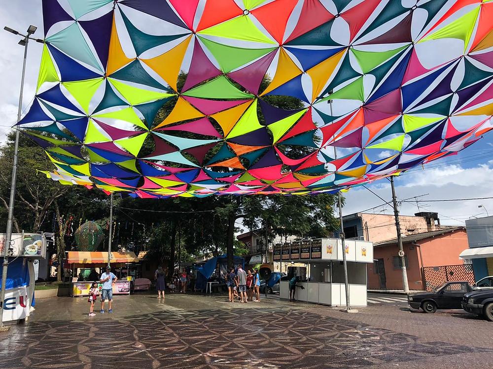 Praça São Benedito, Biritiba Mirim - SP
