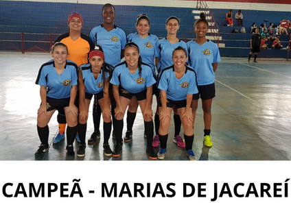 SANTA BRANCA: Jacareí é a campeã do torneio de futsal
