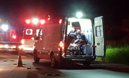 SALESÓPOLIS: Acidente na SP 88 na Estrada das Pitas deixa quatro feridos