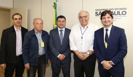 CONDEMAT discute alça de saída do Rodoanel na SP-66 com Secretaria de Logística e Transportes do Est