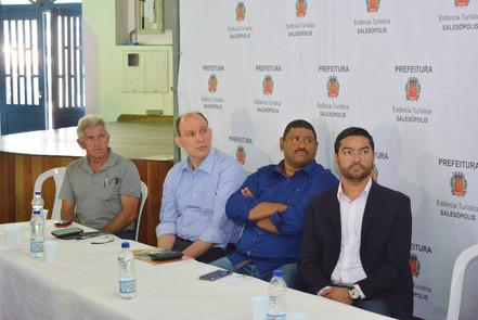 Empresários assistem a palestra do Projeto Desenvolve SP