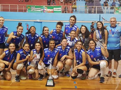 Taça CONDEMAT de Voleibol tem seus primeiros campeões