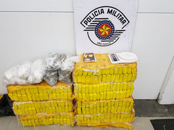MOGI DAS CRUZES: Polícia Militar apreende mais de 100 kg de maconha