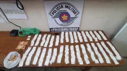 BIRITIBA MIRIM: Menor é apreendido com grande quantidade de cocaína