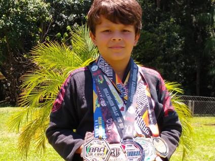 JIU JITSU: Jovem salesopolense é ouro no campeonato mundial