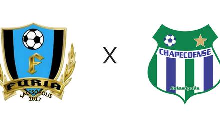 3° Copa Rio Tietê: Fúria goleia Chapecoense e segue com duas vitórias