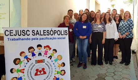 CEJUSC de Salesópolis realiza o 1° workshop sobre mediação escolar