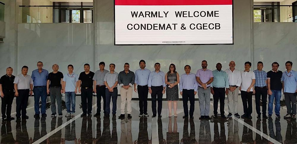 Durante visita à indústria First PV Power, empresários do país oriental ficaram entusiasmados quanto ao mercado brasileiro