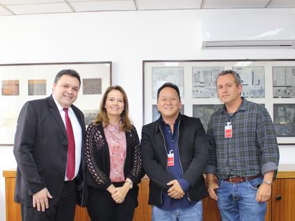 Deputado Marcos Damasio e prefeito de Biritiba Mirim Walter Tajiri solicitam liberação de pavimentaç