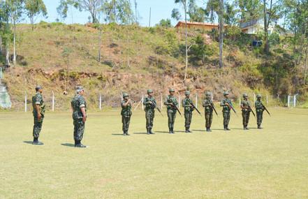 Exército Brasileiro na Estância Turística de Salesópolis - Operação Poço Preto VI