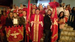 RELIGIÃO: Encerramento da Festa do Divino no Distrito N. S. dos Remédios