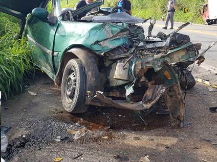 Grave acidente na Mogi/Salesópolis deixa um morto e dois feridos