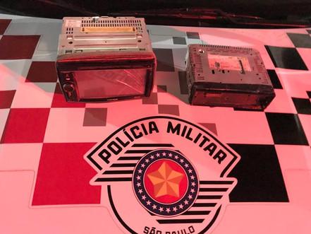 SANTA BRANCA: Polícia Militar prende autor de furtos