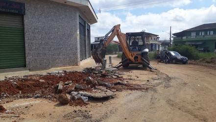 BIRITIBA MIRIM: Iniciadas obras de pavimentação em vias da cidade
