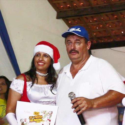 Rosa e Papai Noel