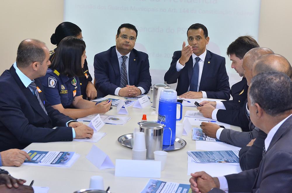 Autor do projeto, o deputado federal Marco Bertaiolli destaca a importância  de reconhecer o trabalho desenvolvido pelas guardas no combate à criminalidade