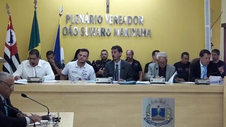 BIRITIBA MIRIM:  Câmara   concede Moção de Aplausos a Equipe do Garra