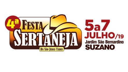 4ª Festa Sertaneja de Suzano acontece de 5 a 7 de julho
