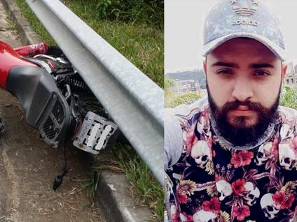 Jovem morre em acidente de moto
