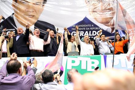 PTB oficializa candidatura do deputado Gondim