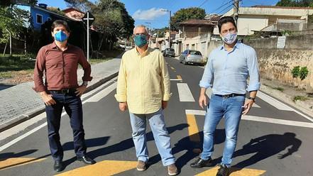 SANTA BRANCA: Prefeito Celso assina convênio de R$ 387 mil para pavimentação da entrada da cidade