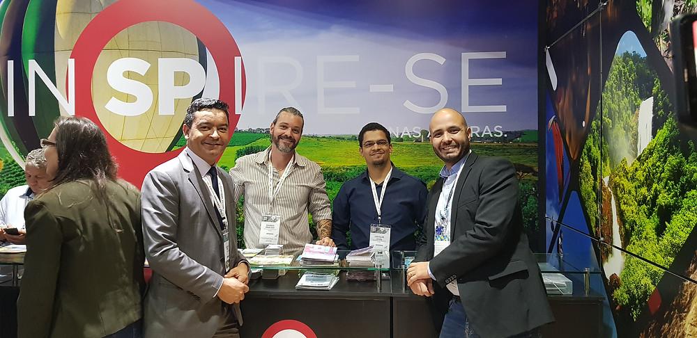 Região marca presença na 47ª ABAV Expo Internacional de Turismo com participação no estande do Estado de São Paulo; evento vai até sexta-feira no Expo Center Norte
