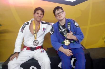 JIU JITSU: Matheus conquista mais uma medalha de ouro
