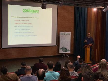 CONDEMAT lança meta de Plano Regional de Mata Atlântica