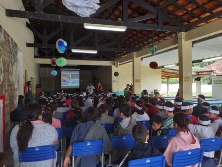 RECICLAGEM: EMEF Professora Maria de Lourdes participa de concurso promovido pela EDP