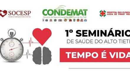 Infarto e AVC são destaque em seminário de saúde promovido pelo CONDEMAT