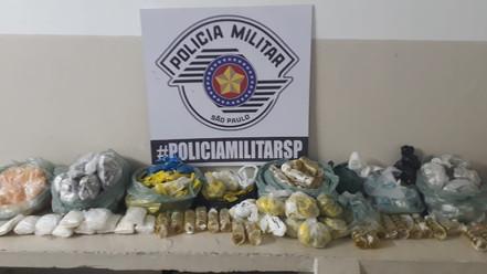 MOGI DAS CRUZES: Polícia Militar prende traficante com mais de 7 quilos de drogas
