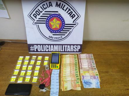 BIRITIBA MIRIM Polícia Militar prende mais um por tráfico de drogas
