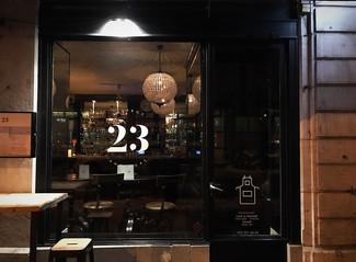 Bistrot 23, cocktails aux saveurs étonnantes