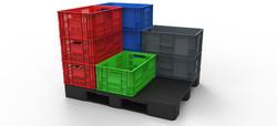 Canastas plasticas canastillas o cestas