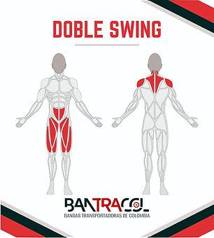 Gimnasios al aire libre musculos doble s
