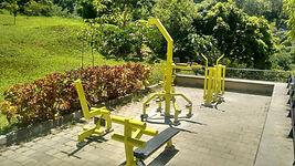 Gimnasios al aire libre para parques y f