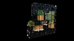Muebles mobiliario para el hogar,oficina,restaurantes y bares estanterias altas