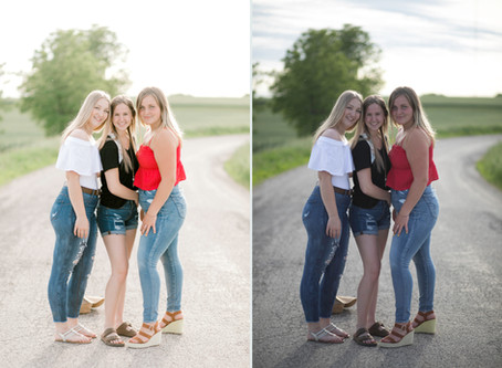 Before and After Edits / OLP / Olivia Leigh Productions