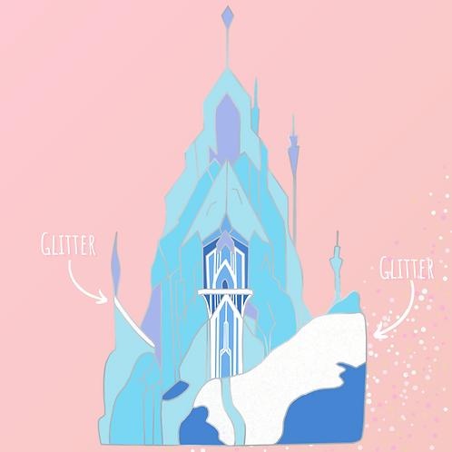 PREORDER - Ice Palace Enamel Pin