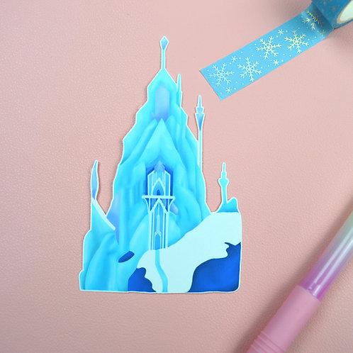 Ice Palace Vinyl Sticker
