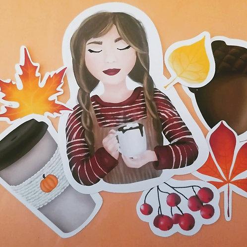 Cosy Autumn Sticker Pack