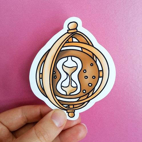 Turner of Time  Vinyl Sticker