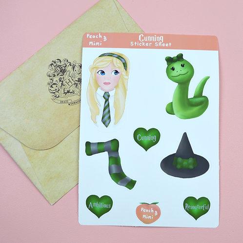 Cunning Sticker Sheet