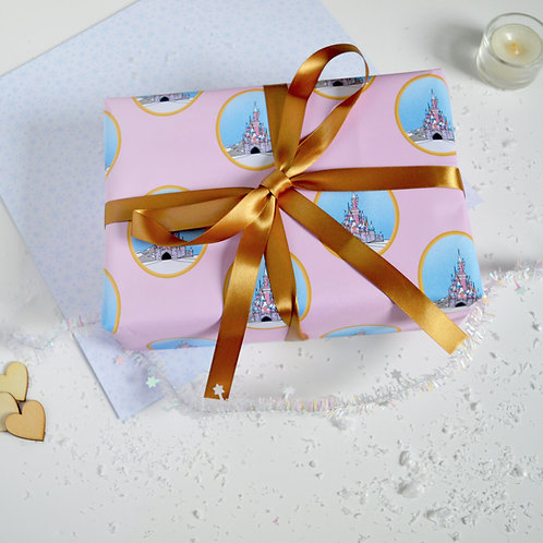 Princess Castle Wrapping Paper