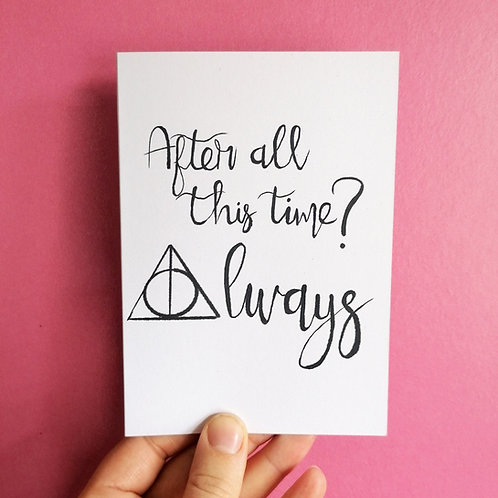 After All This Time Card