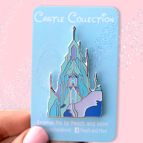 Ice Palace Enamel Pin