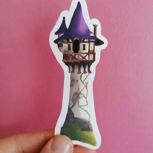 Rapunzel Tower Vinyl Sticker